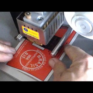 Valor datador hot stamping