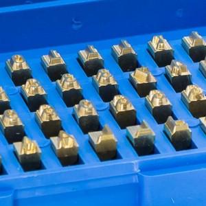Numeradores industriais para materiais